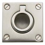 Baldwin 0393 1-5/8 Inch x 1-5/8 Inch Flush Ring Pull