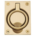 Baldwin 0395 2-1/2 Inch x 3-3/10 Inch Flush Ring Pull