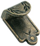 """Amerock BP1583R2 Weathered Brass 1 7/8"""" Finger Pull from the Inspirations Collection"""