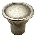 """Amerock BP24010AN Antique Nickel 1-3/16"""" Knob from the Vasari Collection"""