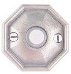 Emtek 2415 Lost Wax Cast Bronze Doorbell Button with #15 Rosette