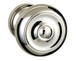 Omnia 473/45PA Passage Knobset with 1-3/4 Inch Rosette