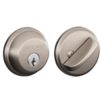 Schlage B60 Deadbolt Single Cylinder Grade 1