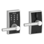 Schlage FE695 CEN/BRW Century Touch Screen Leverset with Broadway Lever