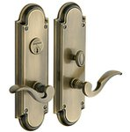 Baldwin 6951.ENTR Estate Stanford Single Cylinder Mortise Entry Set
