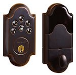Baldwin 8252AC1 Boulder Keyless Entry Single Cylinder Electronic Deadbolt