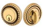 Emtek 8464 Solid Brass Rope Single Cylinder Deadbolt