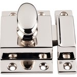 "Top Knobs M1784 Cabinet Latch 2"" - Polished Nickel  from the Additions Collection"
