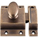 """Top Knobs M1785 Cabinet Latch 2"""" - German Bronze  from the Additions Collection"""
