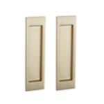 Baldwin PD005.PASS Large Santa Monica Passage Pocket Door Mortise Lock