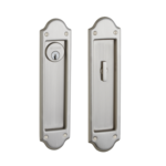 Baldwin PD016.ENTR Boulder Keyed Pocket Door Mortise Lock