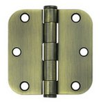 Deltana S35R5HD Heavy Duty 3-1/2 Inch x 3-1/2 Inch Steel Hinge with 5/8 Inch Radius Corners (Sold in Pairs)
