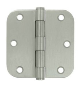 Don-Jo RPB7353558646 Residential 3.5 Inch x 3.5 Inch Hinge with 5/8 Inch Corners (Sold Each)