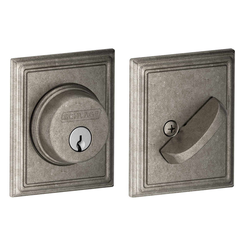Schlage B60add Addison Single Cylinder Grade 1 Deadbolt