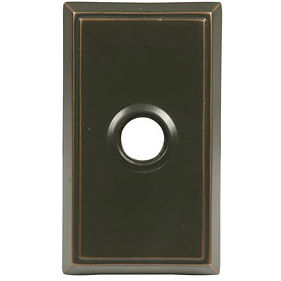 Emtek hanover 510 keyed entry leverset for Front door not centered