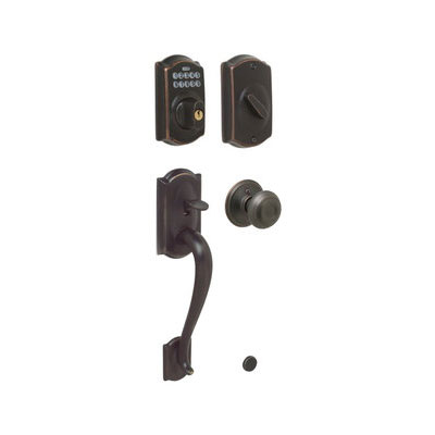 Schlage Fe365 Cam Geo Camelot Electronic Single Cylinder